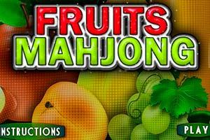 Früchte Mahjong