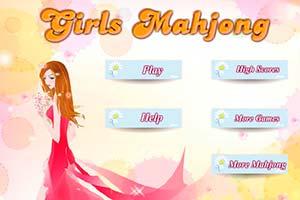 Mädchen Mahjong